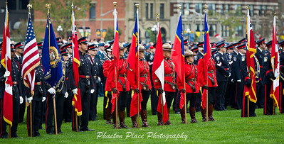 Royal Canadian Mounted Police Colour Party
