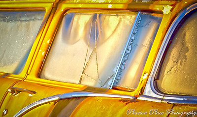 Frost on Old Yellow Cab