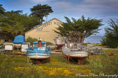 Monterey Boats in Field
